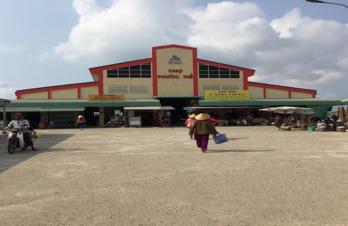 Chợ Phước Thể - Tuy Phong, Bình Thuận
