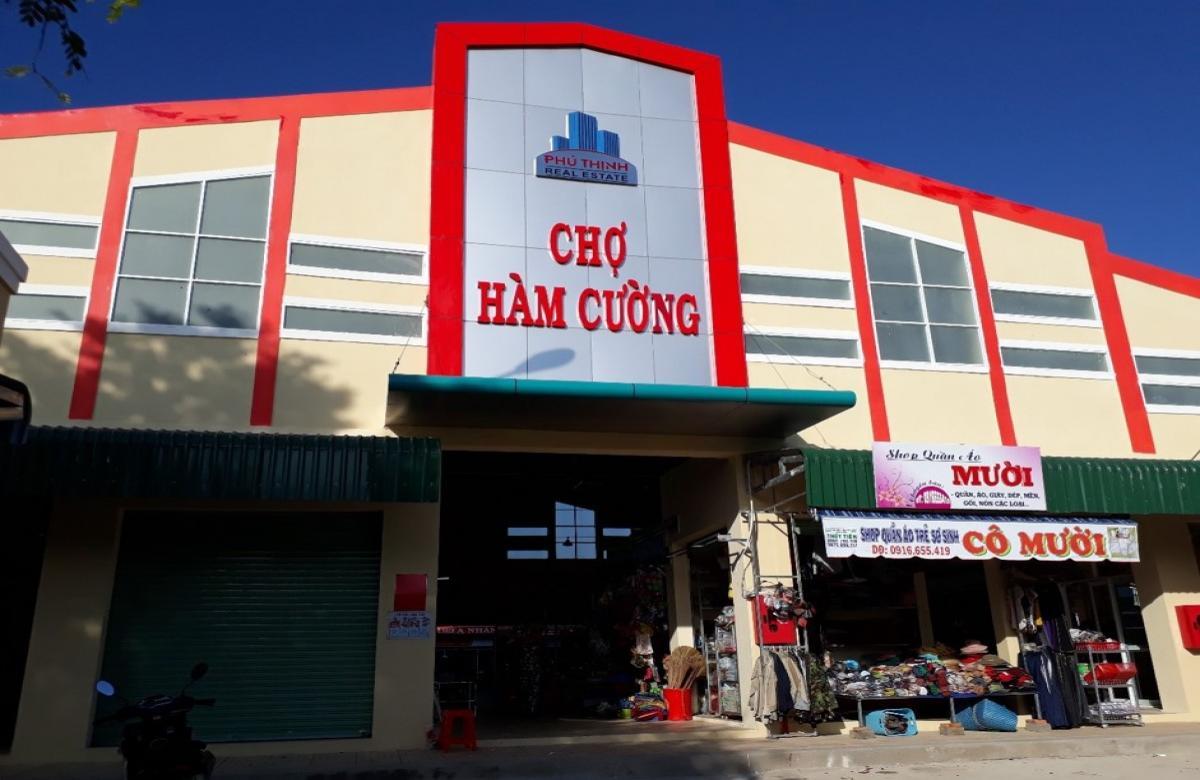 Chợ Hàm Cường - Hàm Thuận Nam, Bình Thuận