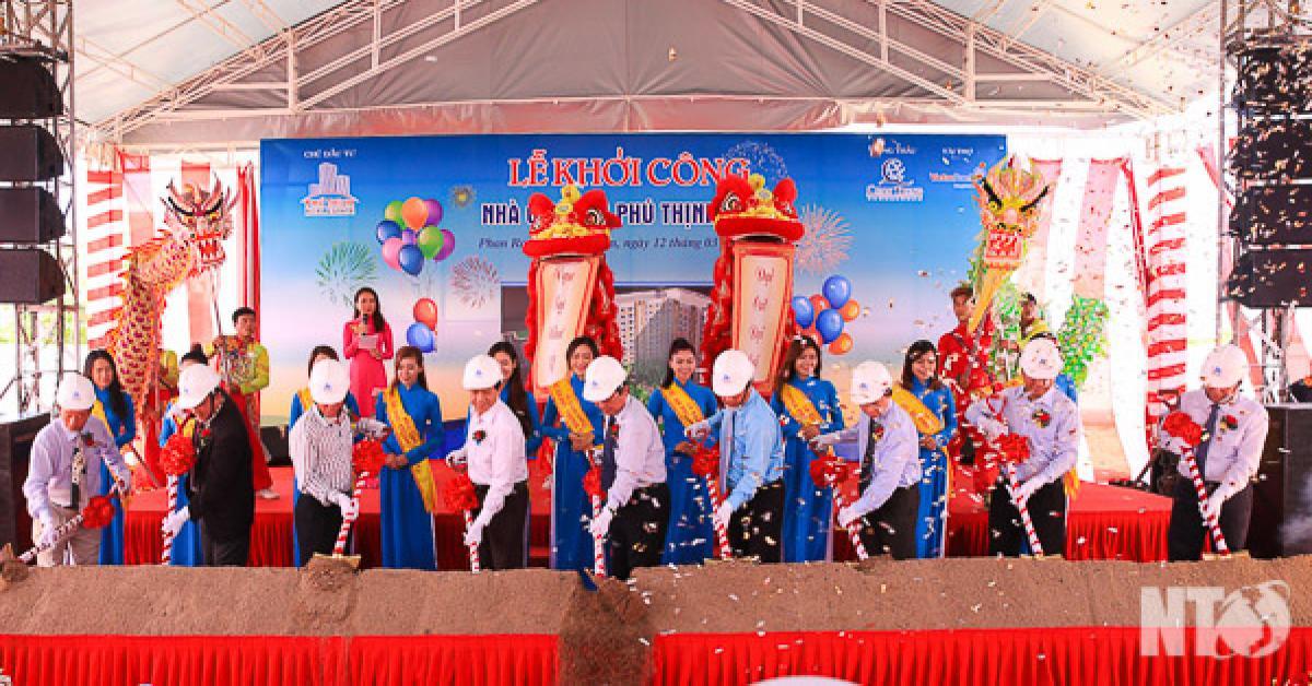 Khởi công Dự án chung cư Phú Thịnh Plaza