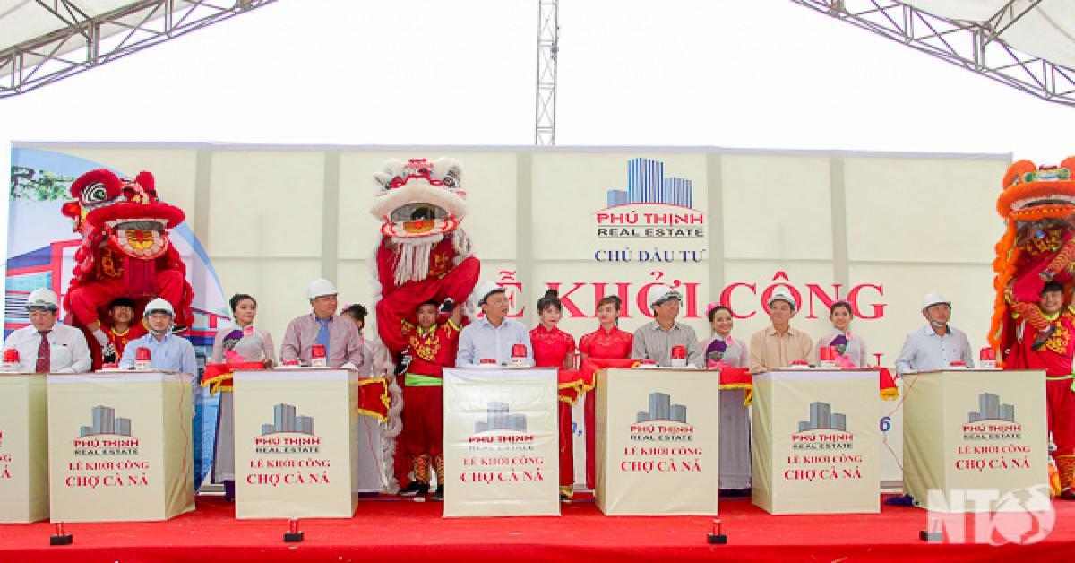 Khởi công Dự án chợ Cà Ná - Ninh Thuận