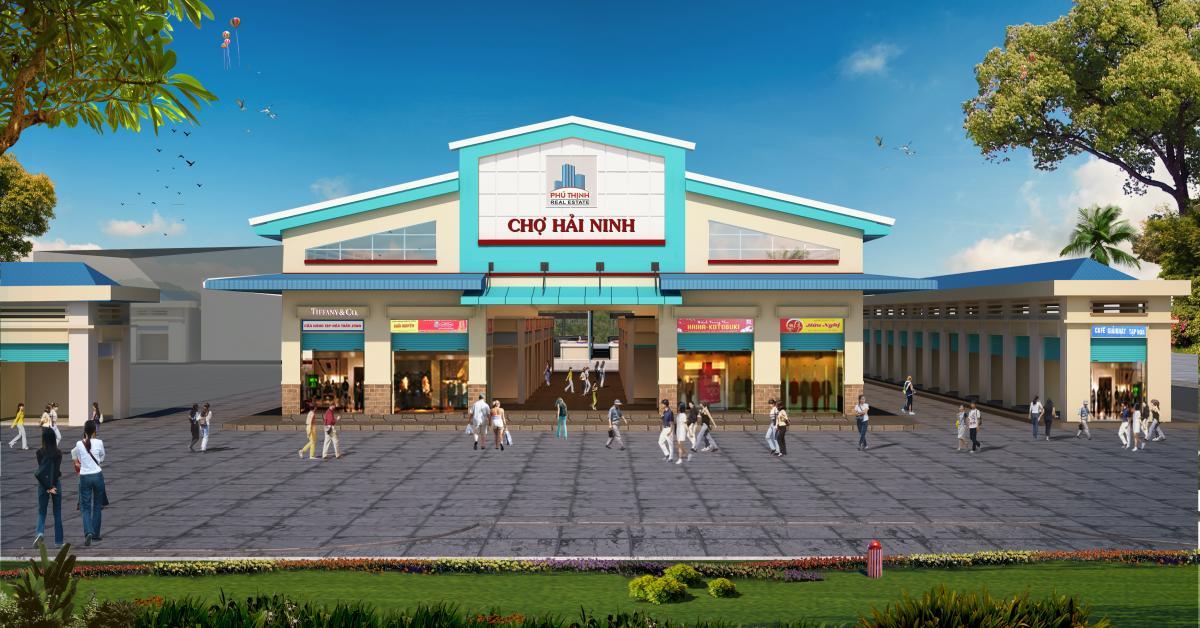 Cho thuê điểm kinh doanh các chợ Bình Thuận, Ninh Thuận