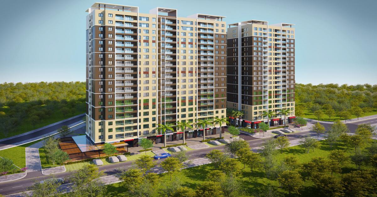 Giao đất xây dựng chung cư nhà ở xã hội Phú Thịnh Plaza